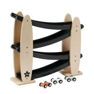 【Kids Concept】 キッズコンセプト/木製コロコロカートレース
