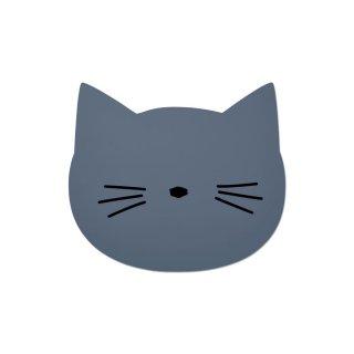【LIEWOOD】リーウッド/シリコン製ランチョンマット/キャット ブルー