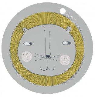 【OYOY】オイオイ/シリコン製プレイスマット/ライオン Lion