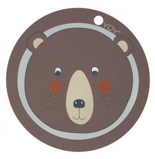 【OYOY】オイオイ/シリコン製プレイスマット/クマ Bear