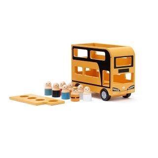 【Kids Concept】 キッズコンセプト/木製二階建てバス