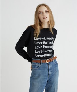 BIG LONG SLEEVE TEE(LOVE&HUMANITY)