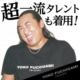 YOKO FUCHIGAMI 公式ファッショナブルTシャツBK<img class='new_mark_img2' src='https://img.shop-pro.jp/img/new/icons25.gif' style='border:none;display:inline;margin:0px;padding:0px;width:auto;' />