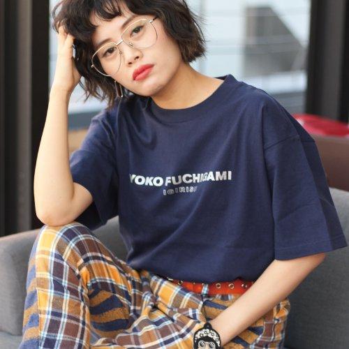 YOKO FUCHIGAMI 公式ファッショナブルTシャツ 期間限定サンマカラーver.