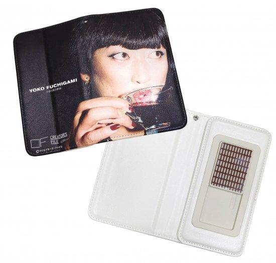 手帳型モバイルケース YOKO FUCHIGAMI