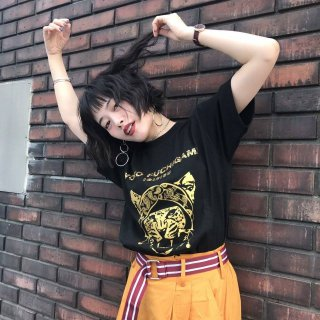 YOKO FUCHIGAMI 公式ファッショナブルTシャツ ヒョウ<img class='new_mark_img2' src='https://img.shop-pro.jp/img/new/icons58.gif' style='border:none;display:inline;margin:0px;padding:0px;width:auto;' />