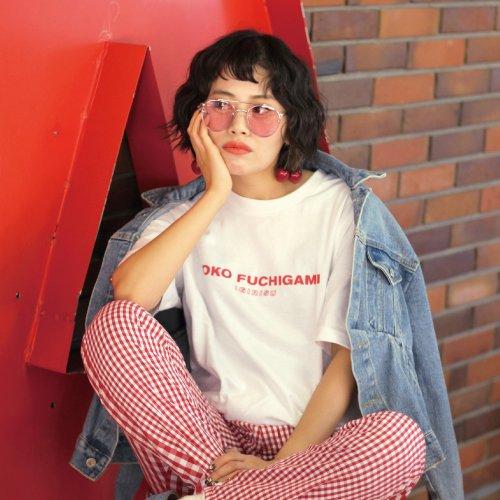 YOKO FUCHIGAMI PARIBARI T-Shirts