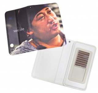 手帳型モバイルケース SHU-ZO