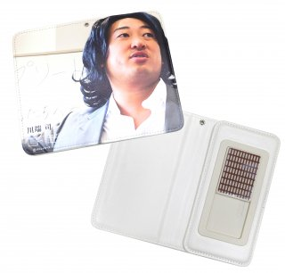 手帳型モバイルケース 川端司