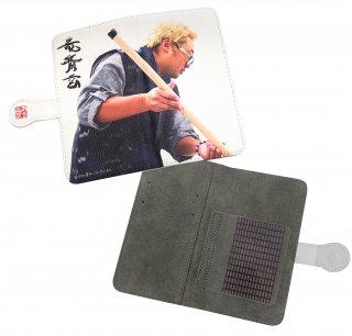 手帳型モバイルケース 竜斎雲
