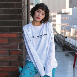 YOKO FUCHIGAMI NAGASODE Tシャツ WH<img class='new_mark_img2' src='https://img.shop-pro.jp/img/new/icons25.gif' style='border:none;display:inline;margin:0px;padding:0px;width:auto;' />