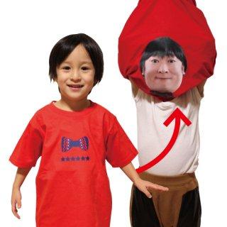 【キャンペーン対象商品】BOTY 体モノマネTシャツ 上杉みちくん キッズサイズ 子供用