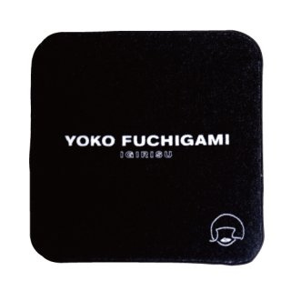 YOKO FUCHIGAMI公式ファッショナブルミニタオル 【ブラック】<img class='new_mark_img2' src='https://img.shop-pro.jp/img/new/icons13.gif' style='border:none;display:inline;margin:0px;padding:0px;width:auto;' />