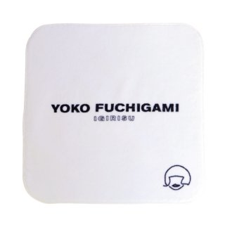 YOKO FUCHIGAMI公式ファッショナブルミニタオル 【ホワイト】<img class='new_mark_img2' src='https://img.shop-pro.jp/img/new/icons13.gif' style='border:none;display:inline;margin:0px;padding:0px;width:auto;' />