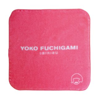 YOKO FUCHIGAMI公式ファッショナブルミニタオル 【ピンク】<img class='new_mark_img2' src='https://img.shop-pro.jp/img/new/icons13.gif' style='border:none;display:inline;margin:0px;padding:0px;width:auto;' />