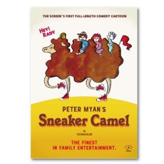 ピーター・マイアン アートパネル Sneaker Camel(らくだのラディ)