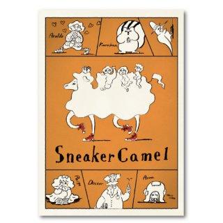ピーター・マイアン アートパネル Sneaker Camel キャラクター