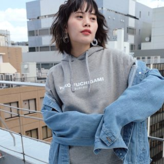YOKO FUCHIGAMI パーカー/GRAY<img class='new_mark_img2' src='https://img.shop-pro.jp/img/new/icons25.gif' style='border:none;display:inline;margin:0px;padding:0px;width:auto;' />
