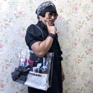 YOKO FUCHIGAMI クリアトートバッグ