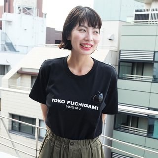 YOKO FUCHIGAMI 公式ポケットTシャツ BK<img class='new_mark_img2' src='https://img.shop-pro.jp/img/new/icons55.gif' style='border:none;display:inline;margin:0px;padding:0px;width:auto;' />