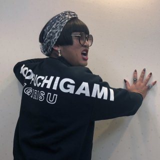 YOKO FUCHIGAMI 田舎のヤンキースウェット<img class='new_mark_img2' src='https://img.shop-pro.jp/img/new/icons1.gif' style='border:none;display:inline;margin:0px;padding:0px;width:auto;' />