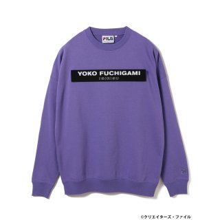 クリエイターズ・ファイル×FILA×BEAMS T /  CREWNECK SWEAT【LIGHT PURPLE】<img class='new_mark_img2' src='https://img.shop-pro.jp/img/new/icons13.gif' style='border:none;display:inline;margin:0px;padding:0px;width:auto;' />