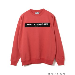 クリエイターズ・ファイル×FILA×BEAMS T /  CREWNECK SWEAT【PINK】<img class='new_mark_img2' src='https://img.shop-pro.jp/img/new/icons13.gif' style='border:none;display:inline;margin:0px;padding:0px;width:auto;' />
