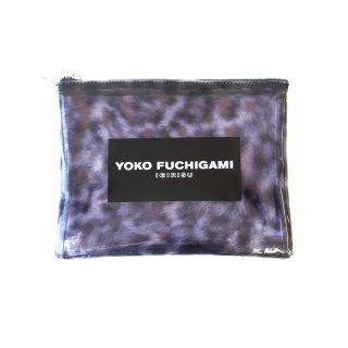 YOKO FUCHIGAMI ターバン柄クリアポーチ