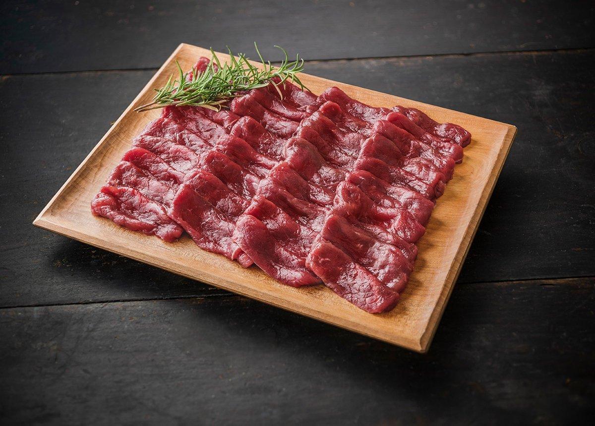 森のジビエ 鹿肉 モモスライス しゃぶしゃぶ用 200g