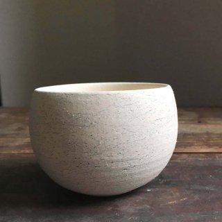 フリーカップ 植木鉢 白