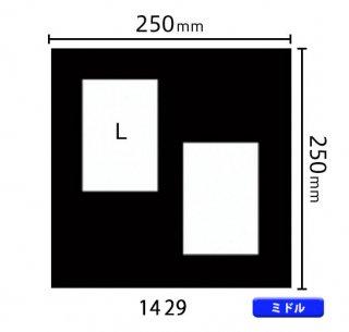 ミドルサイズ中枠 L×2(角/左上斜め)