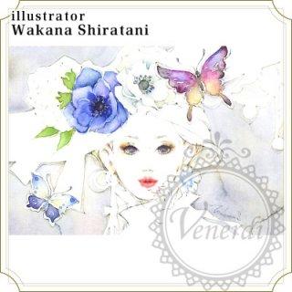 """アートポストカード""""Colors""""バタフライ"""