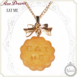 Eat Meクッキーネックレス ゴールド