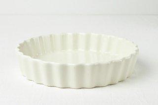 グラタン皿 丸/白(大)