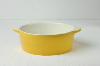 グラタン皿 黄