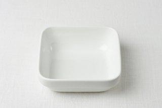 グラタン皿 角/白