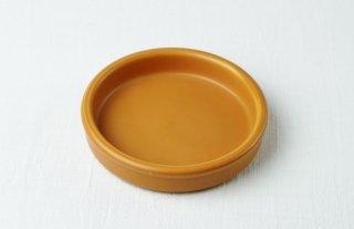耐熱皿 丸/うす茶