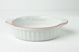 耐熱皿 丸/白