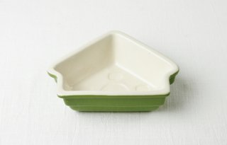 耐熱皿 木の形/グリーン