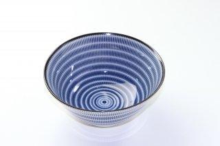 WB30 和風 鉢・どんぶり 白×青 柄あり
