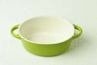YH48 グラタン耐熱皿/黄緑