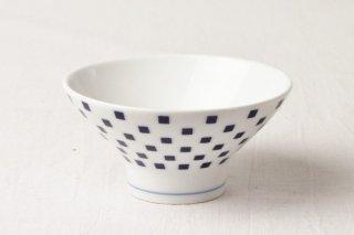 WB49 茶碗 青×白
