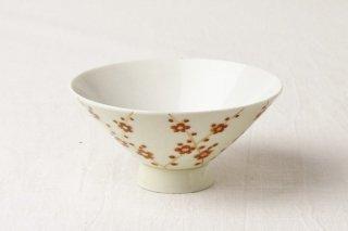 WB51 茶碗 レトロ(梅)