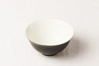 WB57 茶碗 黒×白(内側)