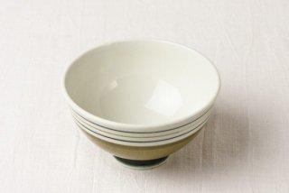WB58 茶碗 黄土色