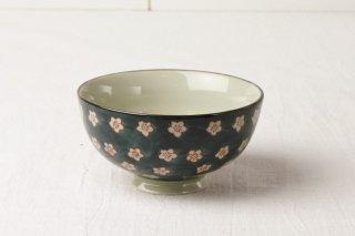 WB60 茶碗 白梅
