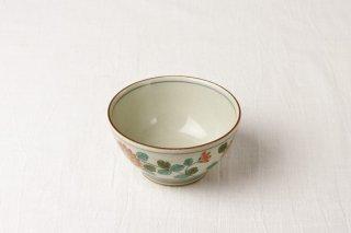 WB63 茶碗 レトロ(花)
