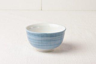 WB70 茶碗 青×白ライン