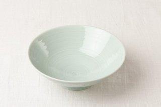 WB114 茶碗 薄緑(平)