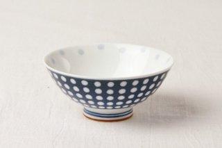 WB122 茶碗 青/水玉